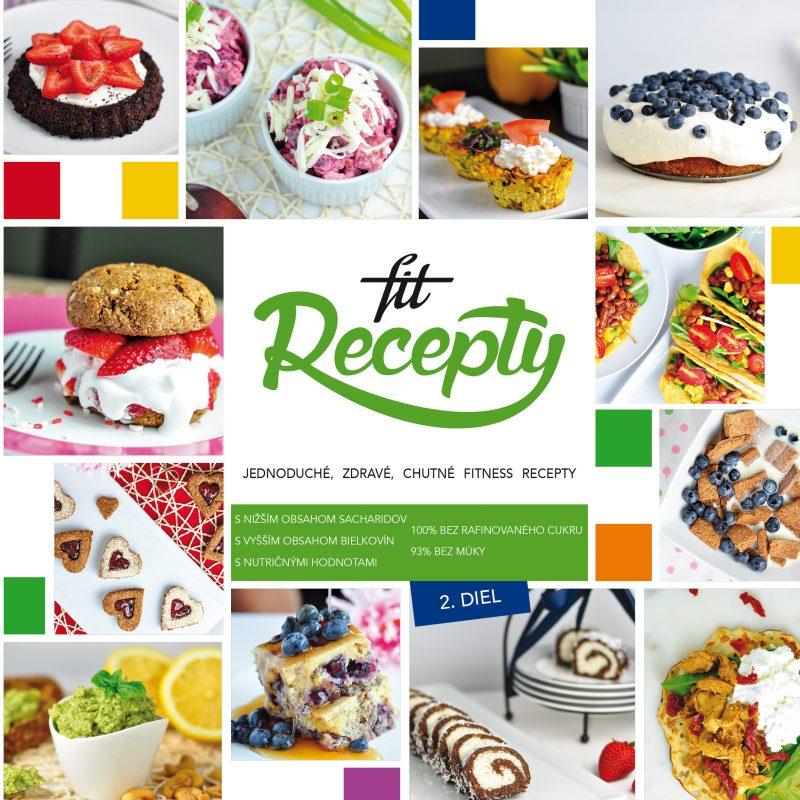 Kniha Fit Recepty 2.diel