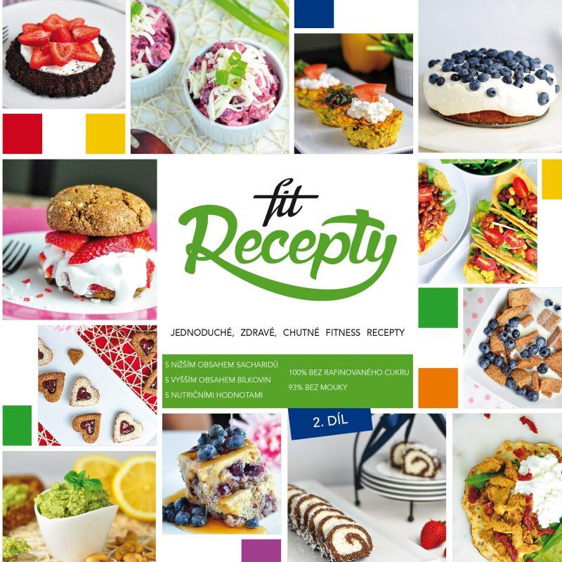 Kniha Fit Recepty 2.díl (česky)