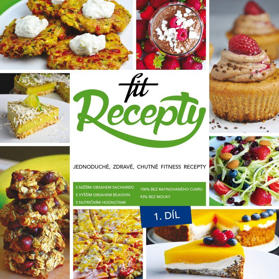 Kniha Fit Recepy 1. díl