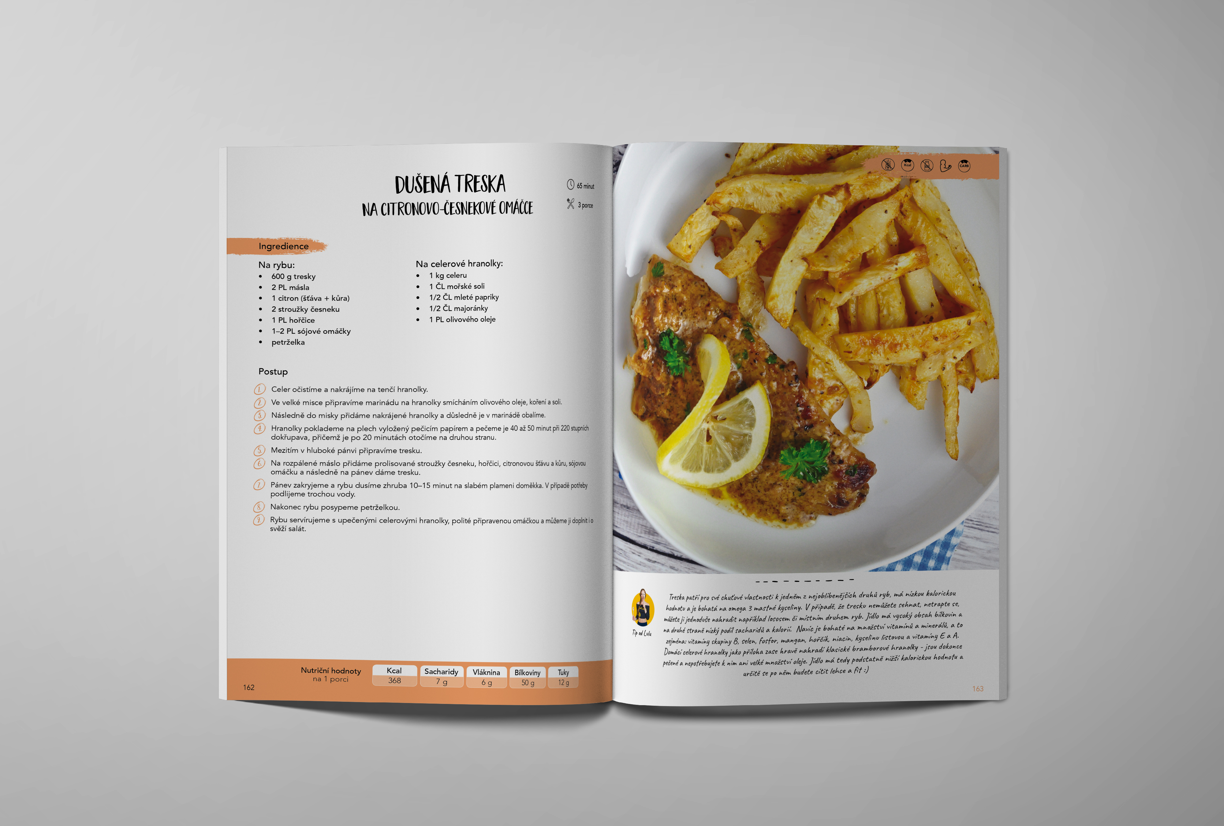 Fit obědy a večeře (česky) - ukazka
