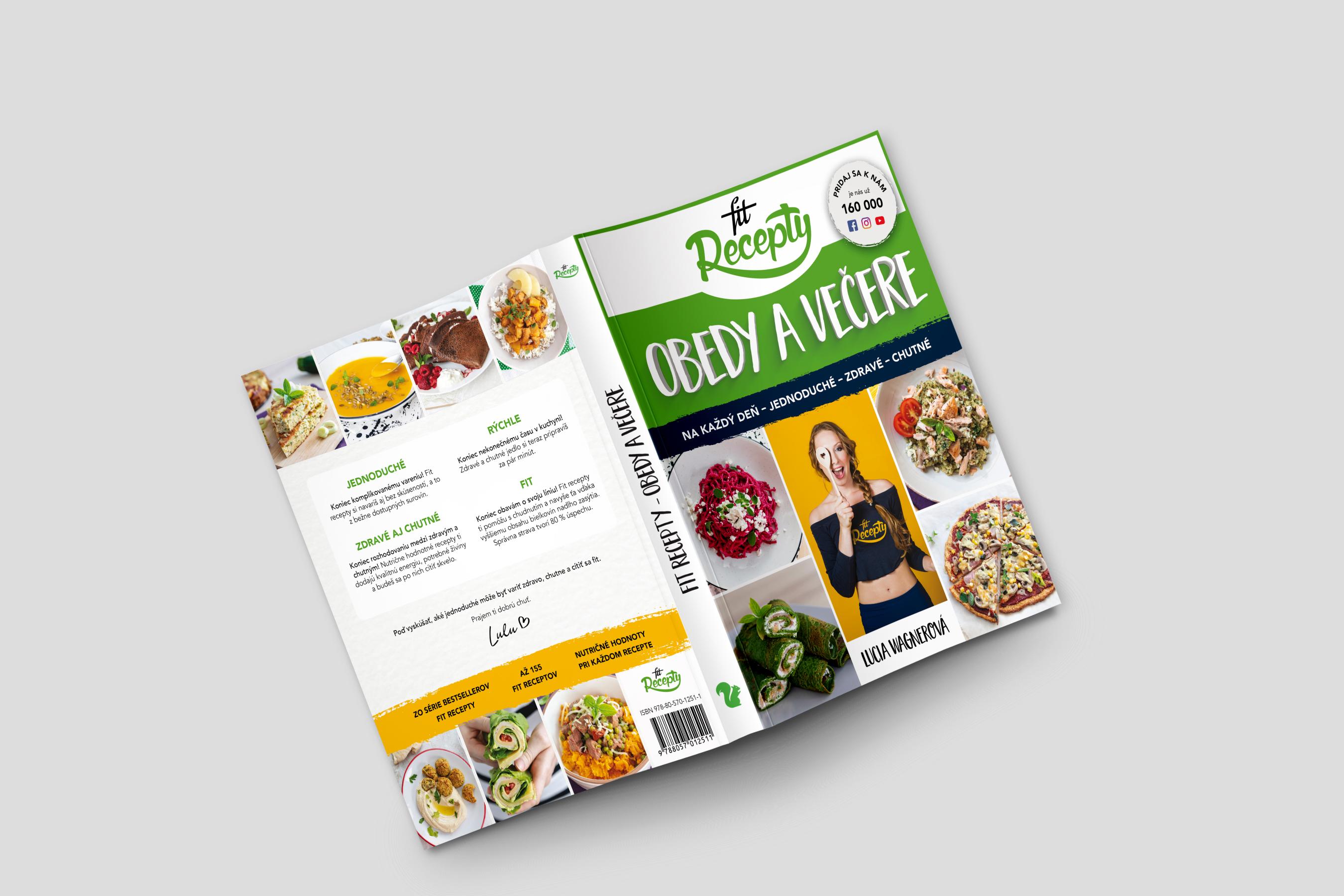 kniha fit recepty - obedy a večere