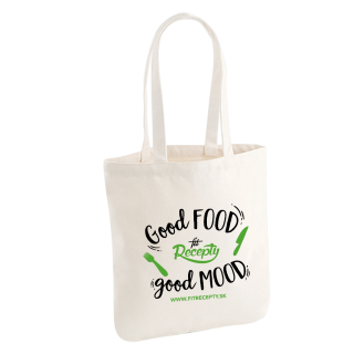 Nákupná eko taška Fit recepty