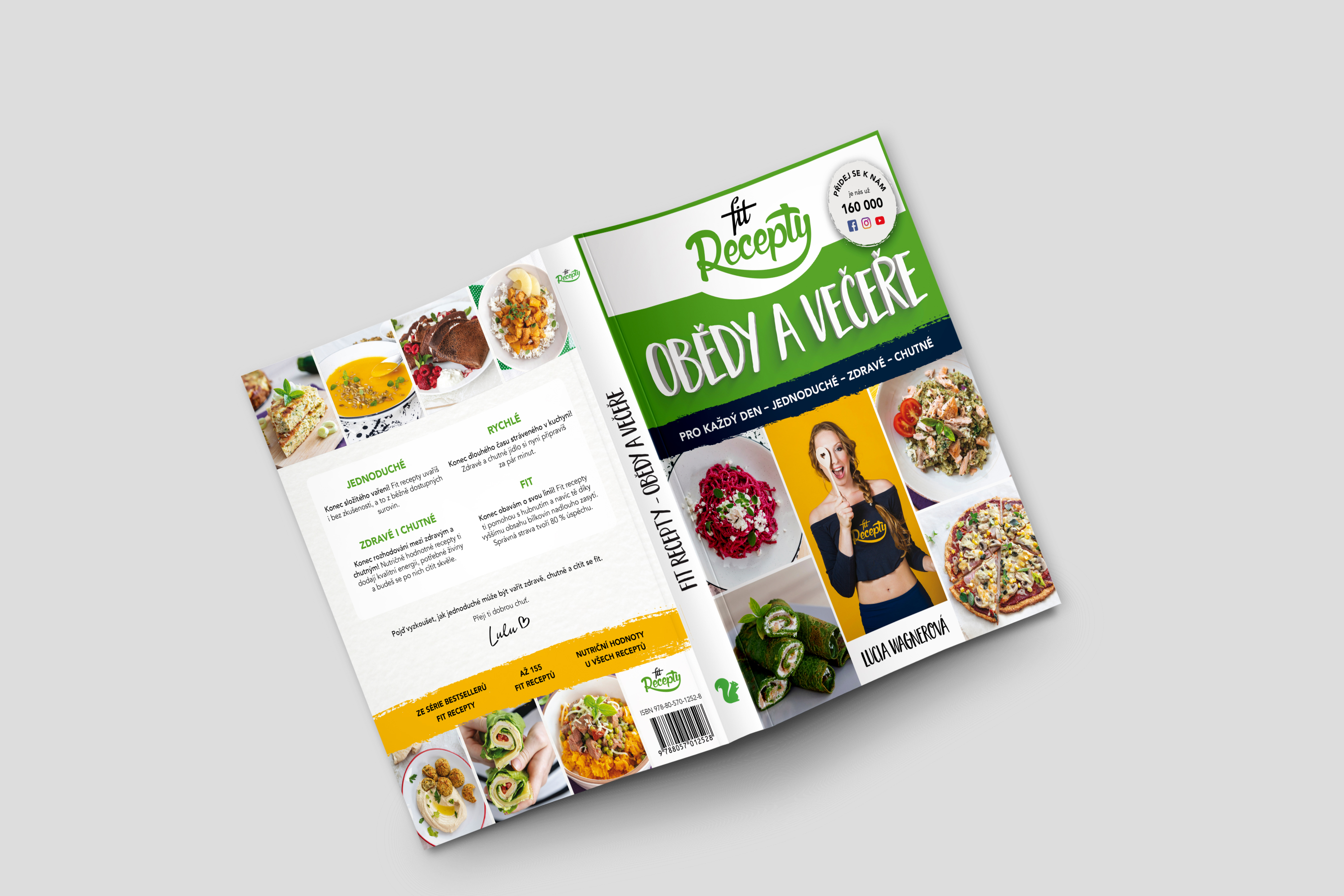 Fit recepty - obědy a večeře (česky)