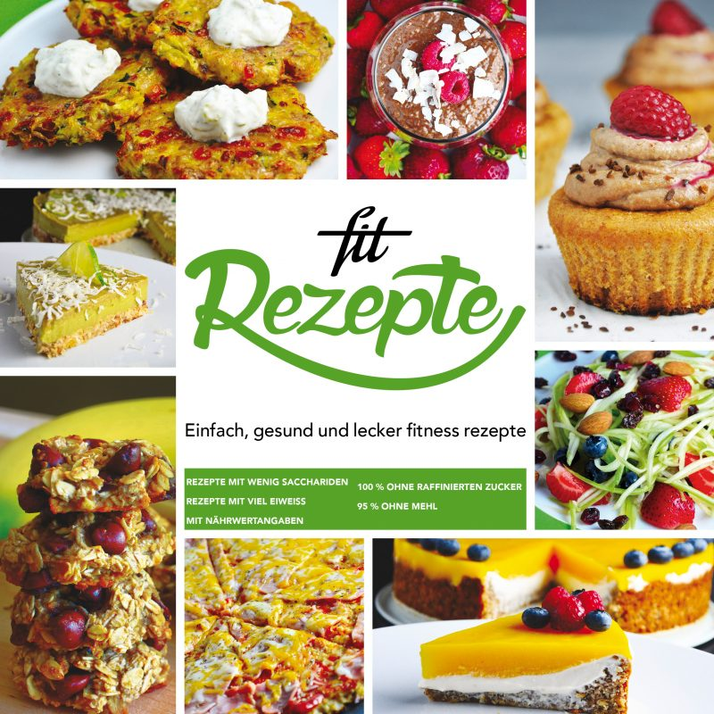 Kniha Fit Recepty 1 – nemecký jazyk